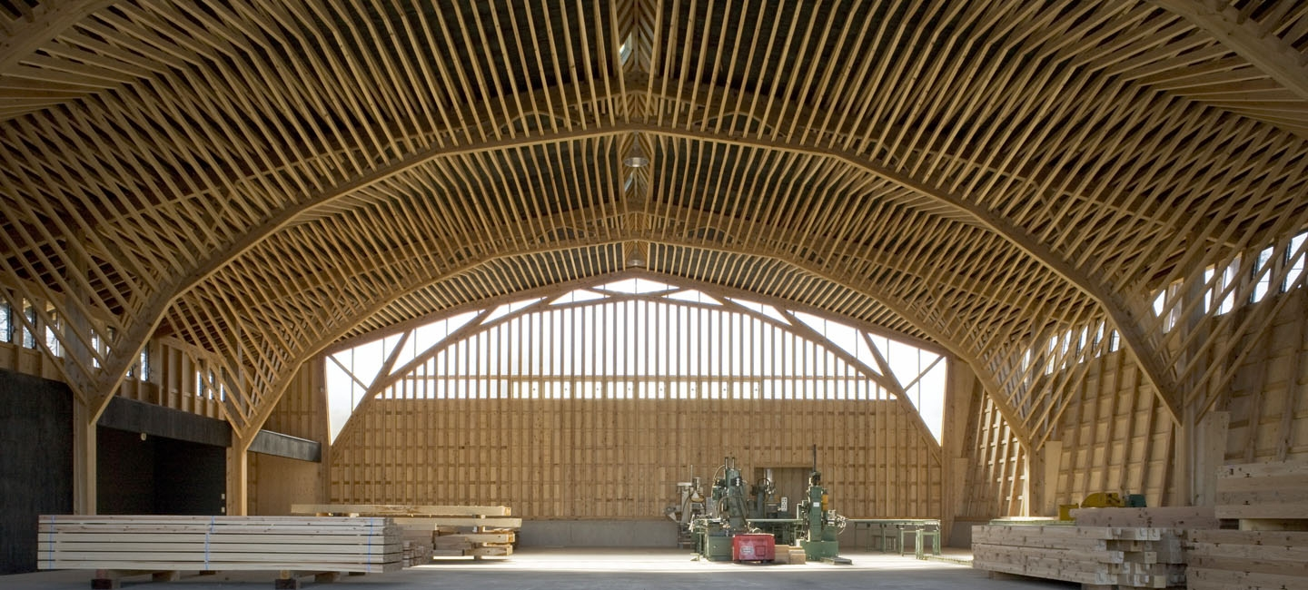 Remarkable japanese timber structures architecture design a u architecture and urbanism - Japanese remarkable ...