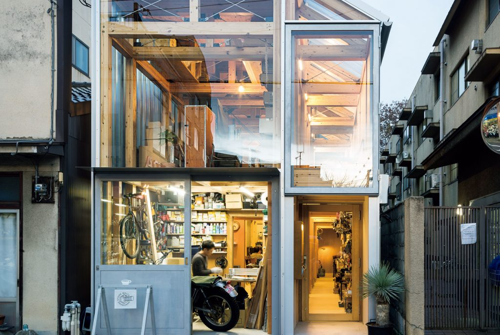 house A / shop B@shinkenchikusha